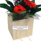 190mm Buttermilk Florist Paper Carrier Bags