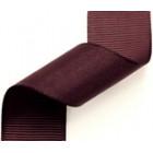 23mm Grosgrain Ribbon Burgundy