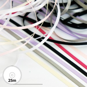 3mm Satin Ribbon Mini Rolls
