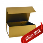 160x200x80mm Gold Magnetic Gift Boxes
