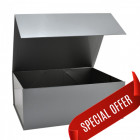 220x280x110mm Silver Magnetic Gift Boxes