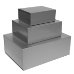 Silver Magnetic Gift Boxes