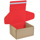 320x320x200mm Brown/Red Mail Order Boxes