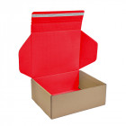 170x140x110mm Brown/Red Mail Order Boxes