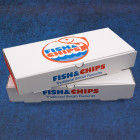 Fish Chip Boxes 12""