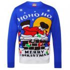 Ho Ho Ho Light Up Christmas Jumper