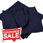 Large Blue Cotton Bags *Clearance*