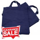 Medium Blue Cotton Bags *Clearance*
