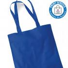 Royal Blue Cotton Bags Long Handles