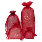Red Organza Bags