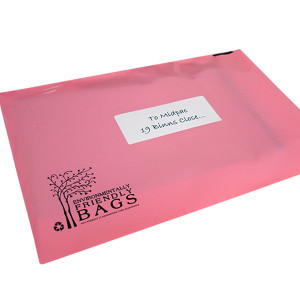 430mm Pink Eco Mailing Bags