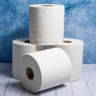 White Barrel Rolls 2ply
