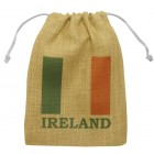 Ireland Jute Drawstring Bags