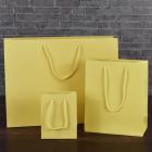 115mm Buttermilk Matt Laminated Paper Carrier Bags