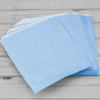 10x14in Baby Blue Paper Bags