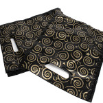 Black Gold Wizard Carrier Bags