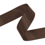 Chocolate Double Faced Satin Ribbon