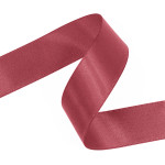 Pink Clay Double Faced Satin Ribbon