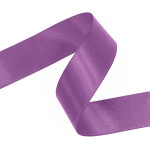 Grape Double Faced Satin Ribbon