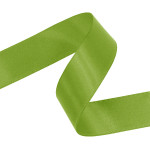Kiwi Double Faced Satin Ribbon