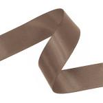 Mocha Double Faced Satin Ribbon