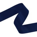 Navy Double Faced Satin Ribbon