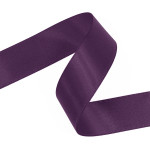 Violet Double Faced Satin Ribbon