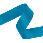 Sea Blue Double Faced Satin Ribbon