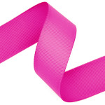 Shocking Pink Grosgrain Ribbon