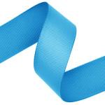 Island Blue Grosgrain Ribbon