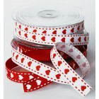 Heart Stitched Ribbon