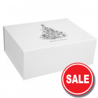 300mm White Christmas Gift Boxes