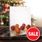 Large Christmas Bauble Paper Carrier Bags
