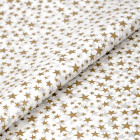 Gold Star Patterned Tissue Paper