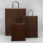 Chocolate Paper Carrier Bags