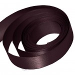 Claret Double Faced Satin Ribbon