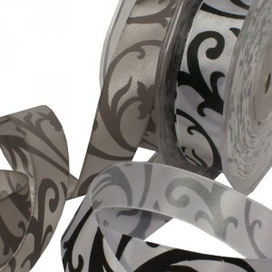 Floral Scroll Ribbon