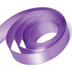 Grape Double Faced Satin Ribbon