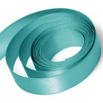 Jade Double Faced Satin Ribbon