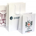 Screen Printed Laminated Paper Carrier Bags