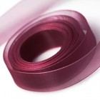 Dark Plum Chiffon Ribbon