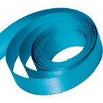 Sea Blue Satin Ribbon