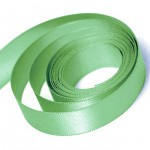 Spearmint Satin Ribbon