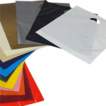 Coloured Polythene Carrier Bags