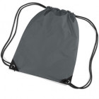 Grey Premier Nylon Backpacks