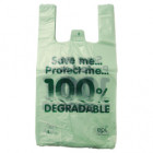 12x19x23in Eco Polythene Vest Carrier Bags