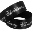 Merry Christmas printed ribbon