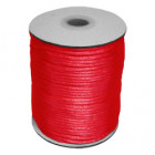 Satin Cord Red