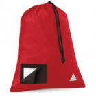School Pump Bags Red