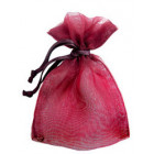 Rustic Red Organza Bags